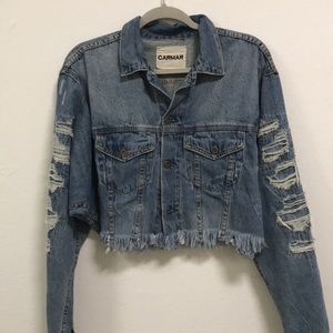 Carmar LF stores denim jacket